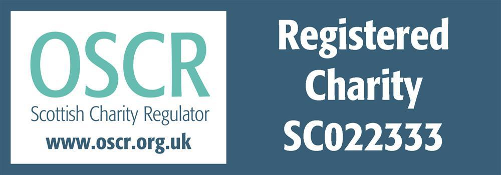 Scottish Charity Register Logo and link to Dundee Disability Sport's charity registration page